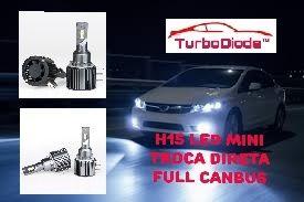 Lampada H15 mini led full canbus plug direto
