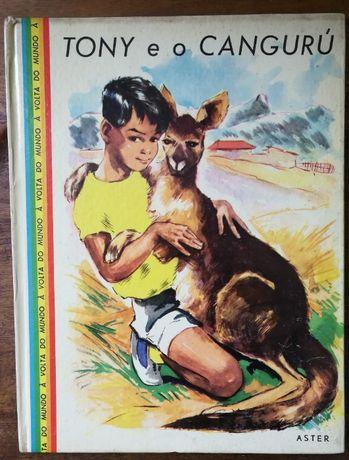 tony e o cangurú, aster, livro infantil