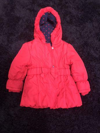 Красная куртка на 3-4 года
