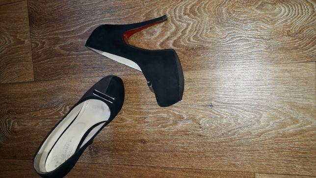 Красивые туфли, 36 размер, 23,5см