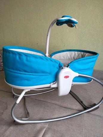 Качалка, качелька,кресло, кроватка, шезлонг музыкальный детский