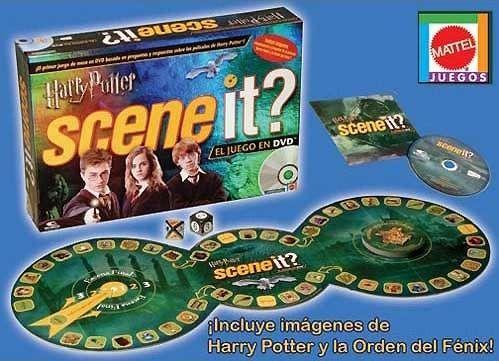 Jogo de tabuleiro Harry Potter Scene it?