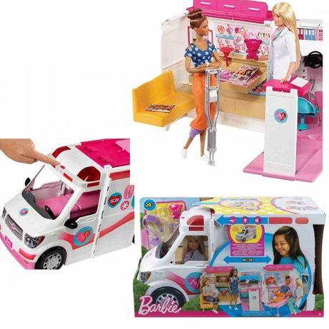 Ambulans karetka Barbie stan bdb z lalką