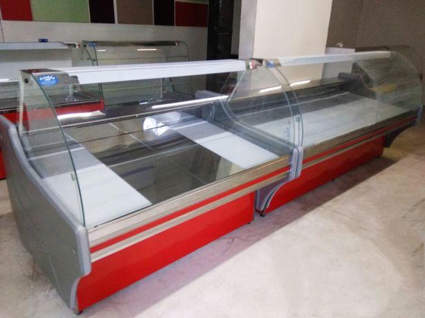 Холодильные витрины Vento.Выкладка 87см.100%нерж.Длина от 1,2 до 2,4м.