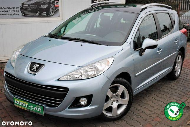 Peugeot 207 PREMIUM e-HDi 92ps Bezwypadkowy*Skóra*Panorama*Serwis-ASO*Idealny-Stan