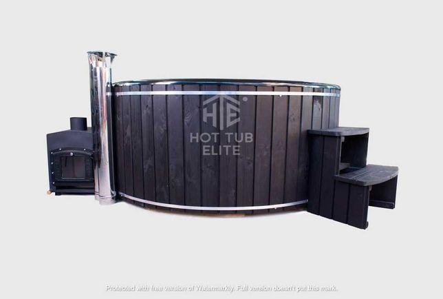 Чан з підігрівом, купель на дровах, Литовського бренду Hot Tub Elite
