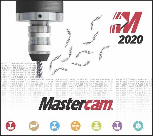 Mastercam 2020,powermill 2021,cimatron,worknc