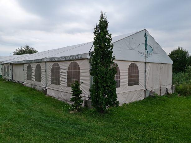 Wynajmę hale namiotową 20x10 200m2 - wynajem min 6m