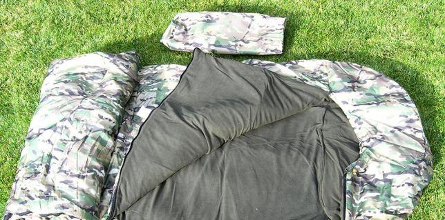 Спальный мешок/спальник/одеяло осень/зима/зимний в палатку на каремат