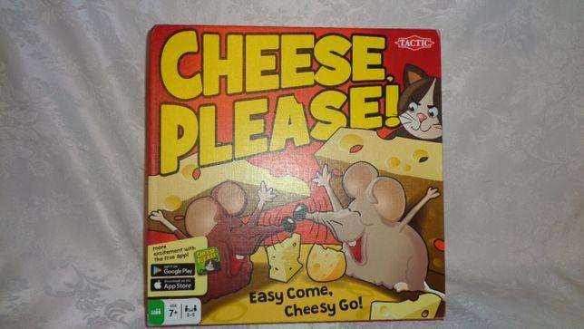 Kolekcjonerska Gra Cheese Please-Ochroń Myszki-wiek 7+