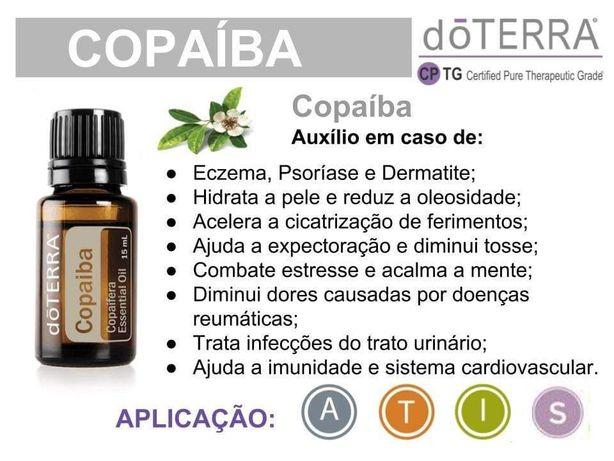 Oleo essencial Copaíba