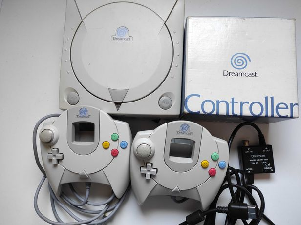 Sega Dreamcast - Consola, dois comandos - ver descrição