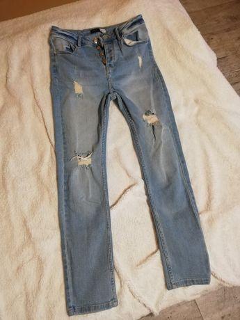 Jeansy Slim Fit 38