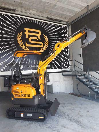 MINI GIRATORIA RS 16 maquina escavadora motor yanmar
