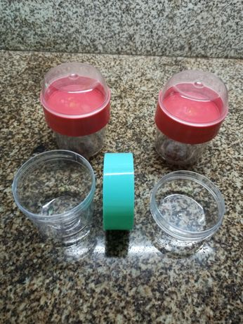 Copo iogurte com reservatório