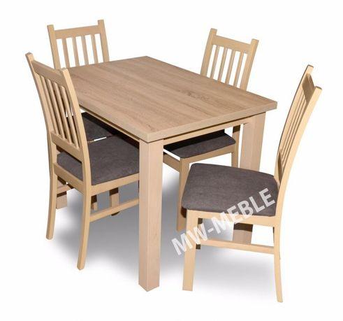 NOWOŚĆ Stół + 4 Krzesła Do Salonu/Jadalni W Niskiej Cenie!