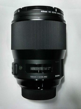 Объектив Sigma ART 135/1.8 DG HSM (для Nikon)