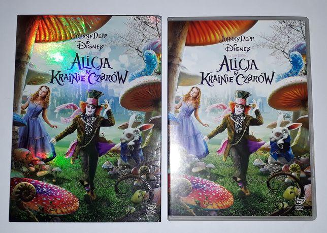Alicja w krainie czarów DVD film Tima Burtona (wyst. Johnny Depp)