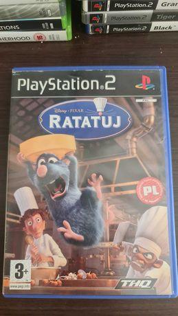 Disney Pixar RATATUJ PL unikat ps2 Playstation 2