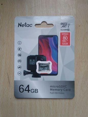 Флешка MicroSD 128 GB 128 ГБ 64 ГБ