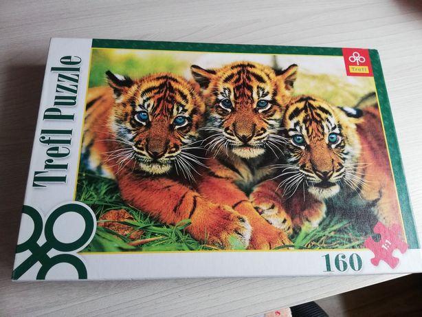 Puzzle trefl tygrys