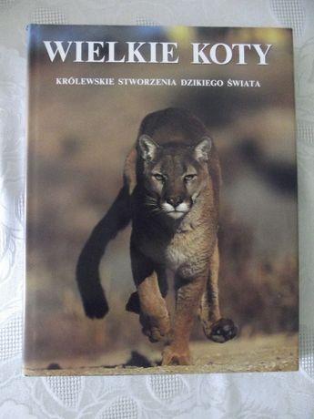 """Książka """"Wielkie koty"""""""