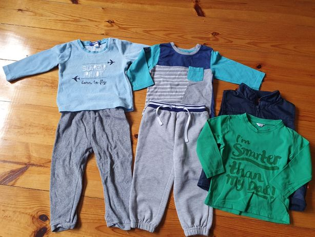 Ubranka dla chłopca od 1-3 lat