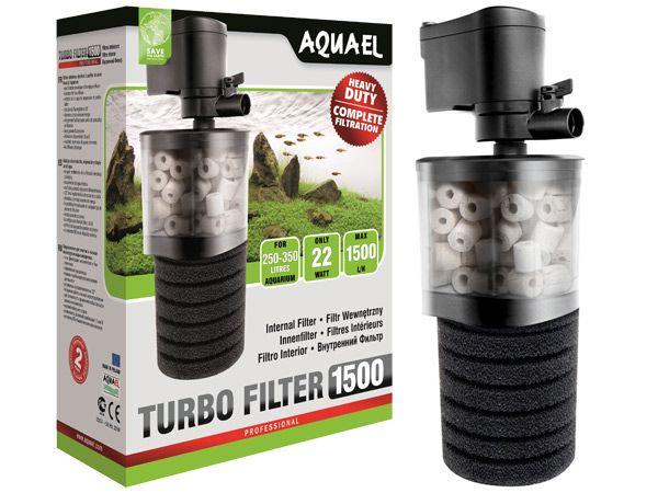 Filtr Aquael Turbo Filter 1500 l/h wewnętrzny do akwarium NOWY