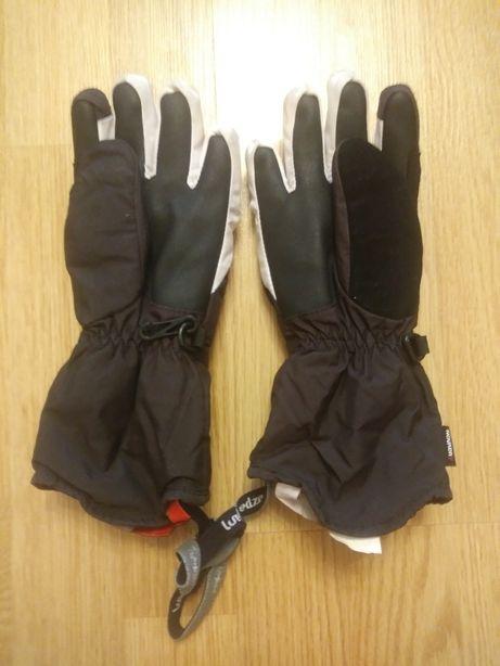 Rękawiczki dziewczęce narciarskie wiek. Ok 9-10 lat