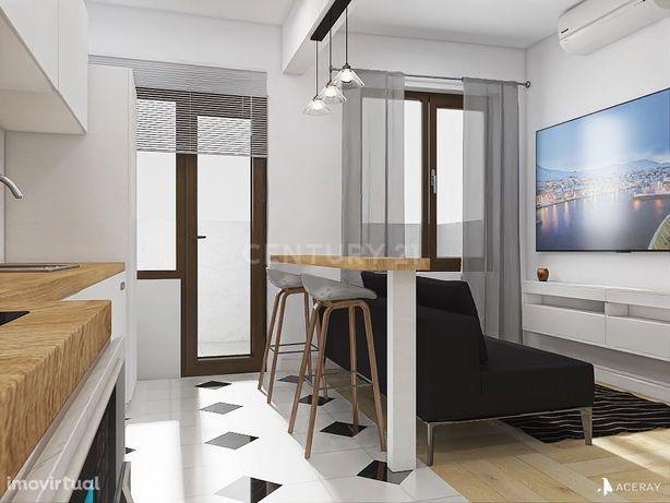 Apartamento T1 remodelado transformado em T2 na rua Gomes Freire