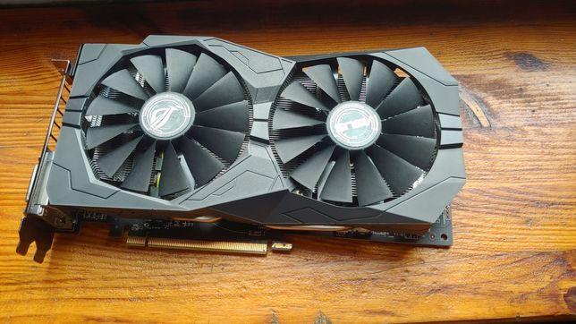 Karta graficzna AMD Radeon RX 570 ASUS Rog Strix Gaming OC 4gb