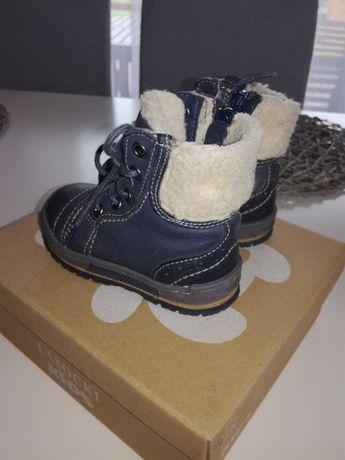 Zimowe buty(botki) dziecięce roz. 21