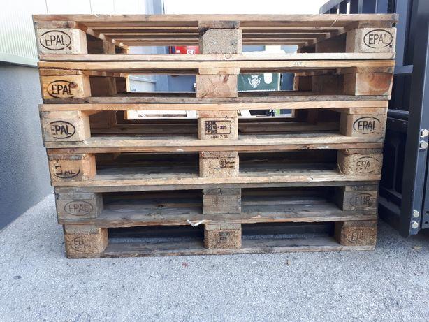 Paletes Euro de madeira usadas