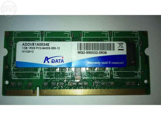 MemÓria ram 1 gb pc2-6400s para computador portÁtil