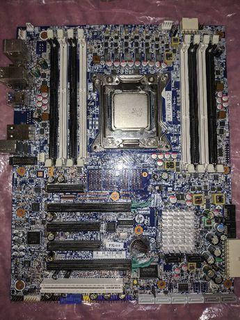 Материнская плата HP Z420 lga 2011 intel x79 Под восстановление