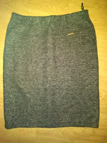 Spódnica srebrna nitka