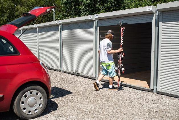 Magazyn schowek komórka garaż kantorek do wynajęcia, Gniezno 12m2