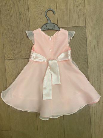 Детское нарядное платье на годик