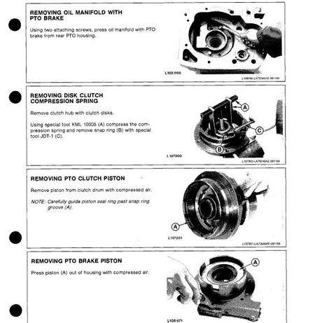 instrukcja napraw, serwisowa John Deere 1640, 2040, 2140