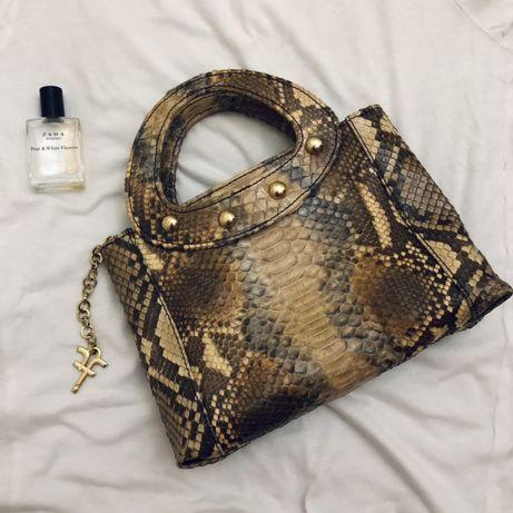 сумка с натуральной кожи