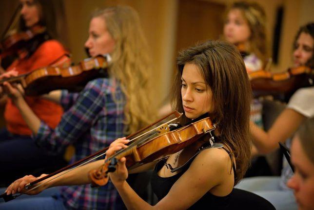 Уроки гри на скрипці. Уроки игры на скрипке
