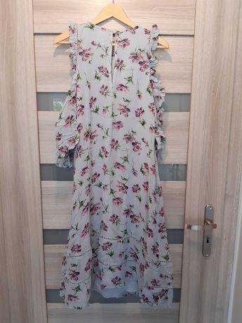 Długa suknia ciążowa