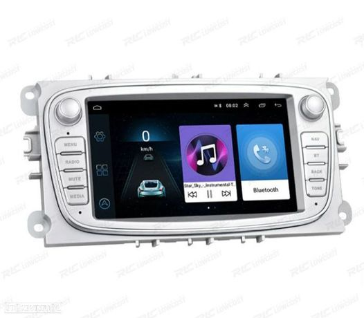 AUTO RÁDIO ANDROID 8.1 2DIN MULTIMEDIA FORD 08-11