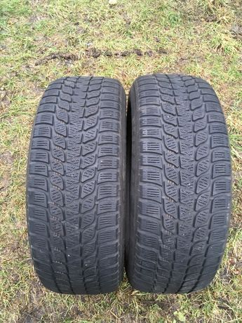 Opony zimowe Bridgestone 195/65/15 para.