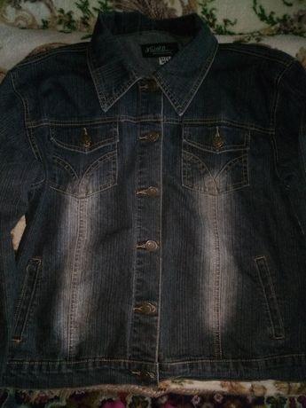 Продам джинсовий піджак