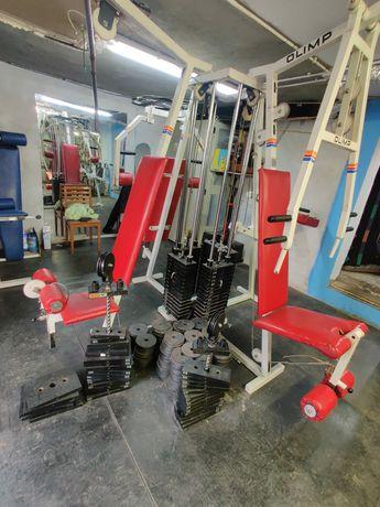 Atlas Olimp 4 stanowiskowy (450kg)brama wyciąg obciążenie siłownia
