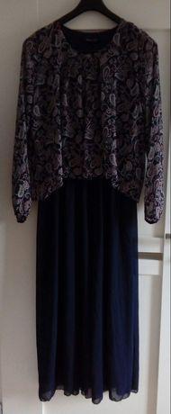 Długa sukienka 42 44