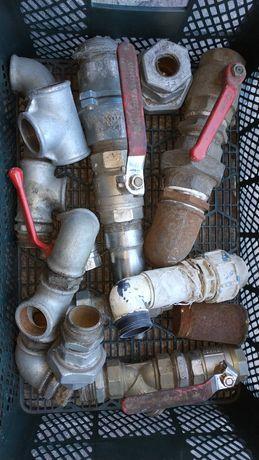 Hydrauliczne zawory złączki mufy śrubunki różne