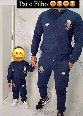 Fato de treino para pai e filhos
