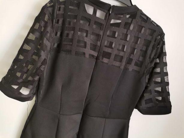 Sukienka ciążowa czarna 36